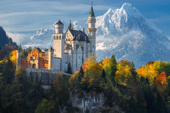 Zamek Neuschwanstein w Niemczech. Najbardziej bajkowa ...