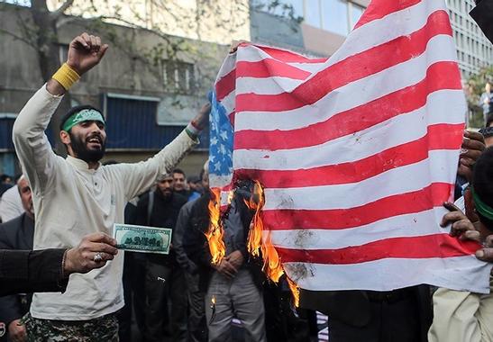 [✔] United States of America  Iranian_Protesters_Burning_USA_Flag.jpg?u=https%3A%2F%2Fupload.wikimedia.org%2Fwikipedia%2Fcommons%2F4%2F4e%2FIranian_Protesters_Burning_USA_Flag