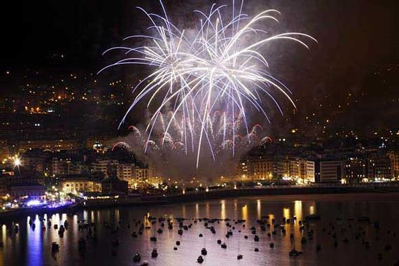 San Sebastian | Fotos - Fuegos artificiales de Semana ...