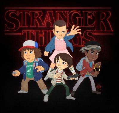 #StrangerThings #Dessin #Fanart par Luigi Lucarelli   News ...