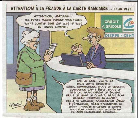 """Coup de gueule """"Frais bancaires"""" - Le blog de charisma45"""