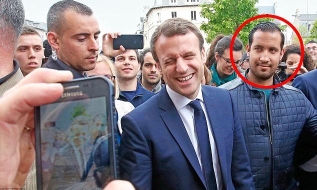 Emmanuel Macron says Alexandre Benalla is not his lover ...