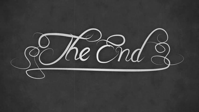 The End - Movie Ending Title - Old Silent Movie Style ...