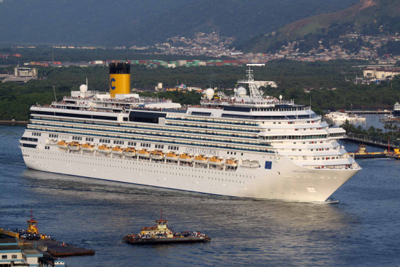Unprecedented salvation of Costa Concordia cruise ship was ...