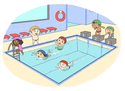 Séances piscine – École élémentaire Marc Mouclier d'Aigre