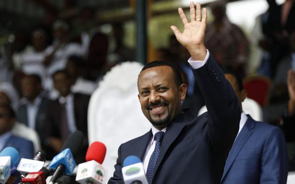 Le premier ministe Ethiopien Abiy Ahmed