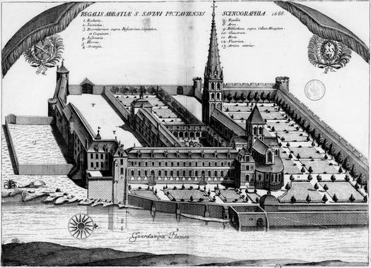 Abadia de Saint-Savin - Monestirs