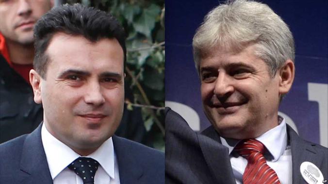Zweisprachiges Mazedonien im Parlament beschlossen