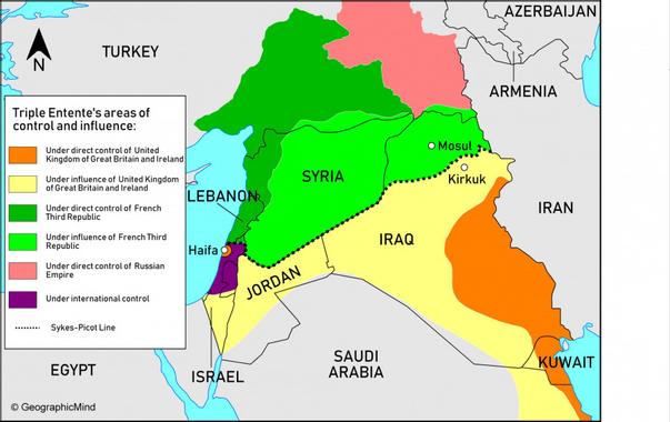Jak velmoci zradily Kurdy a Asyřany: Rusko a Francie, 1918 ...