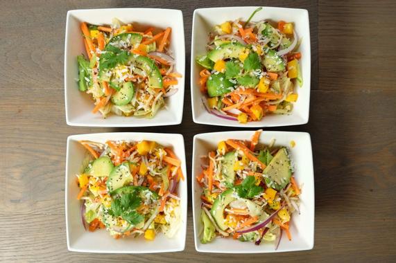 Recette : salade Thaï aux graines de chia ! | Salade thai ...