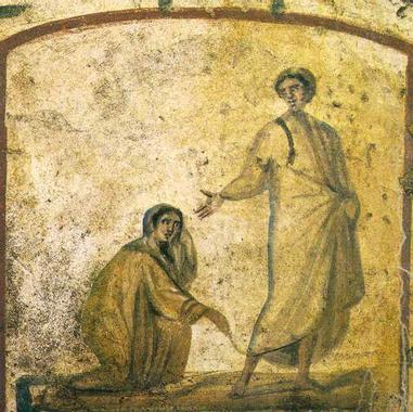 La femme hémorroïsse et la fille de Jaïre (Mc 5,21-43 ...