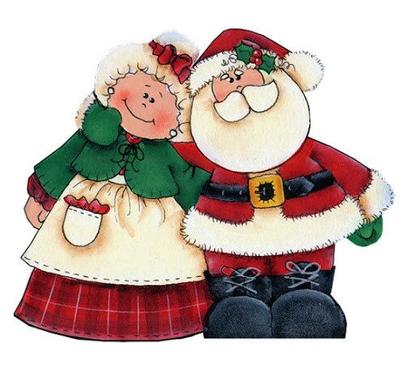 Noel aux points de tige - Les ciseaux et les pinceaux de Véro