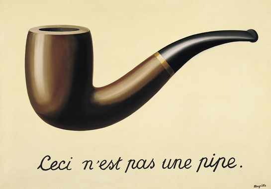 The treachery of images (This is not a pipe) - Rene ...