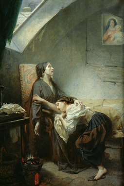 The Suicide Painting by Octave Tassaert