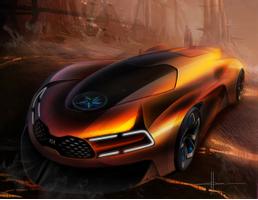 Download Kia Steam Engine Electric Sports Car Hd Cars 4k