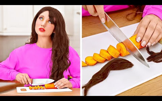 LONG HAIR VS SHORT HAIR PROBLEMS || Funny Everyday Situations by 123 GO!
