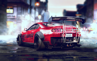 Download Toyota Supra Sports Car Wallpapers