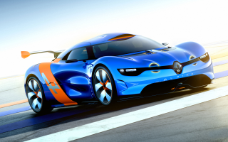 Download Renault Alpine Concept Car Wallpapers
