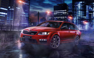 Download 2015 Skoda Octavia Rs 230 Wallpaper