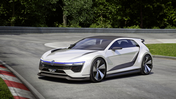 Download Volkswagen Golf Gte Sport Concept Wallpaper