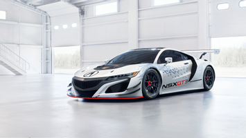Download Acura Nsx Gt3 Racing Hybrid Wallpaper