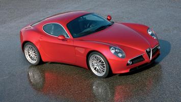 Download Alfa Romeo Car Red Cars Alfa Romeo 8c Wallpapers Hd