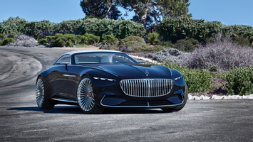 Download 2018 Vision Mercedes Maybach 6 Cabriolet 6 Wallpaper