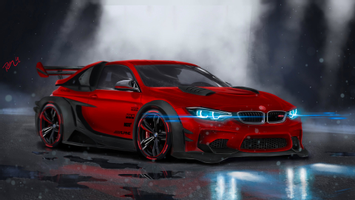 Download Bmw M4 Highly Modified Hd Cars 4k Wallpapers Images