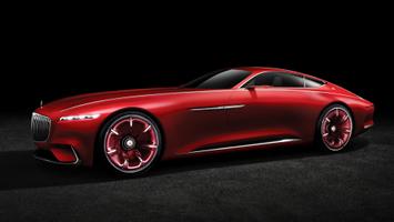 Download Vision Mercedes Maybach 6 3 Wallpaper