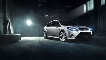 Download Ford Focus Rs White Wallpaper