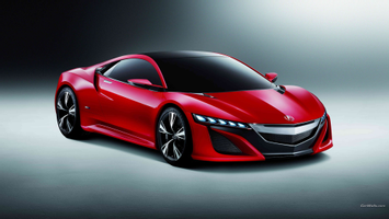 Download Acura Acura Nsx Car Red Cars Wallpapers Hd Desktop