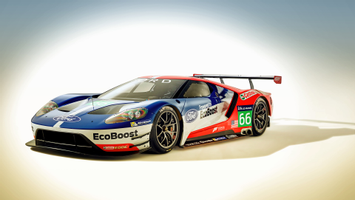 Download Ford Gt Race Car 2016 Wallpaper