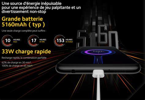 Vitre arrière Xiaomi Poco X3 gris ombre