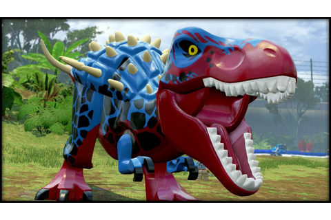 LEGO Jurassic World - BLITZ-REX! CUSTOM DINOSAURS! - YouTube
