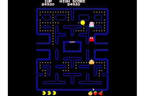 Pac-Man Game - YouTube