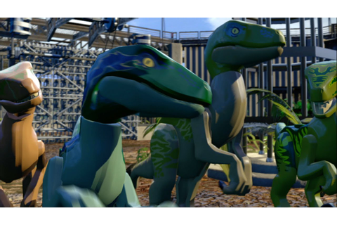 LEGO Jurassic World Game - Dinosaur Gameplay Trailer - YouTube