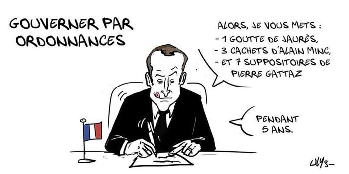 Macron président : les dessinateurs ne lui accordent pas d ...