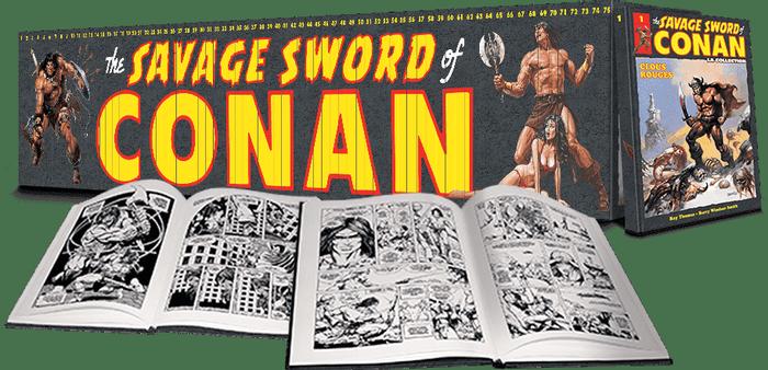 SAVAGE SWORD OF CONAN - La Collection Hachette - Hachette ...