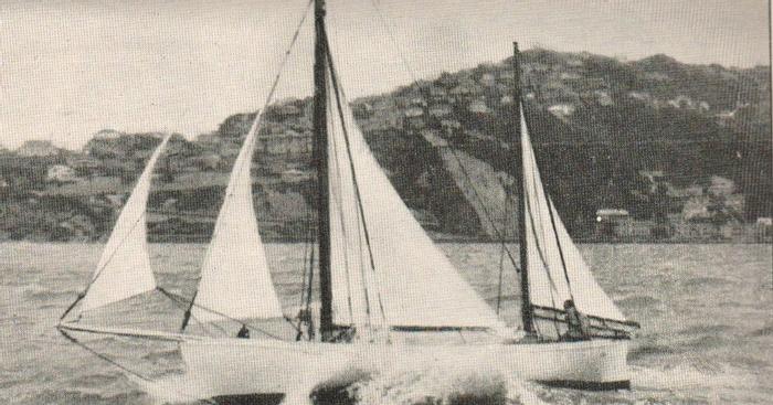 Vito Dumas y los Cuarenta Bramadores | Avelok, The Yacht ...